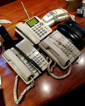 VENDO LOTE DE TELÉFONOS FIJOS