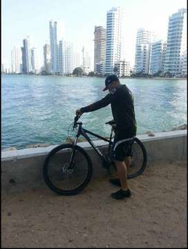 "Bicicleta MTB RALEIGH Talla: M 17""- RIN 29"""
