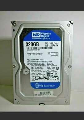 Disco duro wertern digital 320 gb