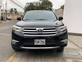Camioneta SUV Toyota Highlander 2013 - 69000 kilómetros