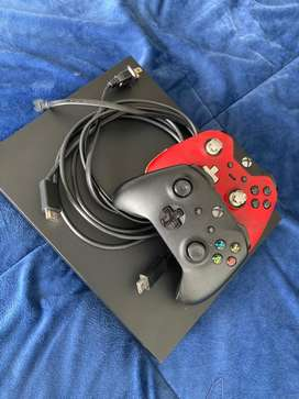Xbox one X 1T juegos y controles