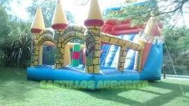 Castillos AURORITA, alquiler de juegos para eventos, toro mecánico, to