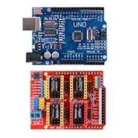 Vendo Arduino uno más shield cnc