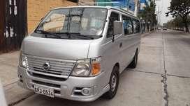 Furgoneta Nissan Urvan 2007