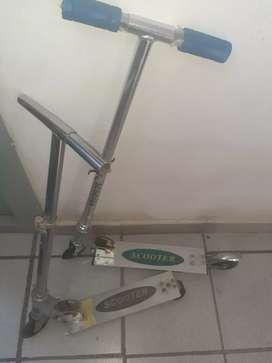 Monopatines scooter para niños 1500$ c/u