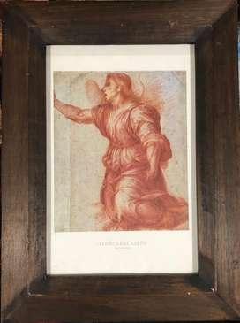 Coleccion de 10 litografias enmarcadas