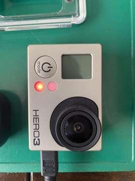Gopro Hero3 + Gopole + accesorios