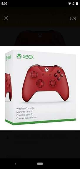 Control Xbox one edición limitada (red)