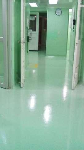 Pintura para pisos industriales