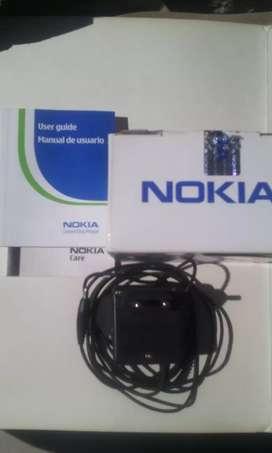 Cargador Nokia Original Acp -7e + su caja conservados