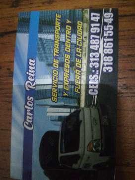 Se presenta el servicio de transporte y mudanzas Chía a carreos