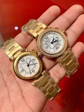 Reloj cartier ball Silver and gold