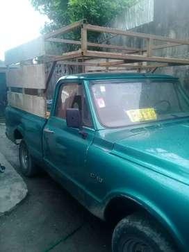Vendo camioneta chevrolet c10 1969 impecable