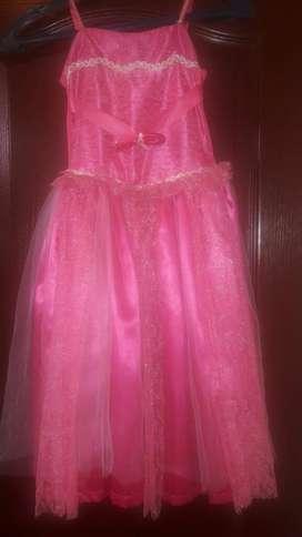 Vestido disfraz princesa Barbie original