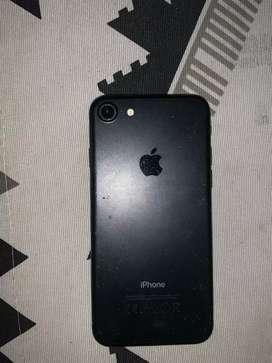 iPhone 7 de 256gb color negro mate