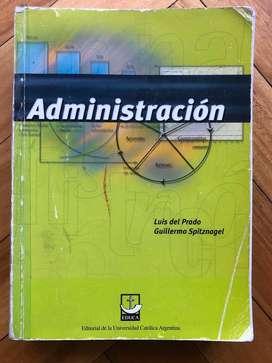 Administración - Luis Del Prado - Guillermo Spitznagel
