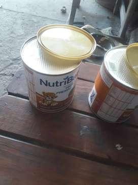 Leche nutri baby prematuro 2 mil pesos los dos tarros