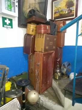 Maletas maletines y neceseres antiguos