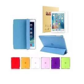 iPad 9.7 5ta Y 6ta Gen Estuche Smart Cover + Vidrio Templado