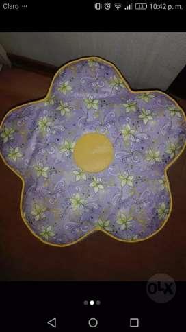 Puff en forma de flor, nuevo