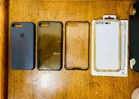 Cases para iPhone 7 u 8 Plus.
