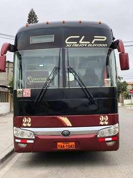Bus Yutong Modelo Año 2013