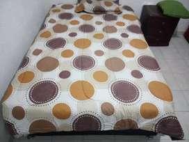 Base cama sencilla de dos piezas + colchón