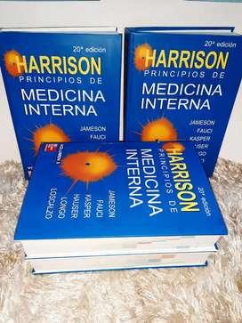 Principios de Medicina Interna Harrison 20va Edicion - Tamaño A4 - Pasta Dura