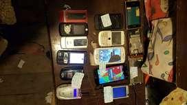 Vendo o cambio celulares clásicos y actuales con detalles