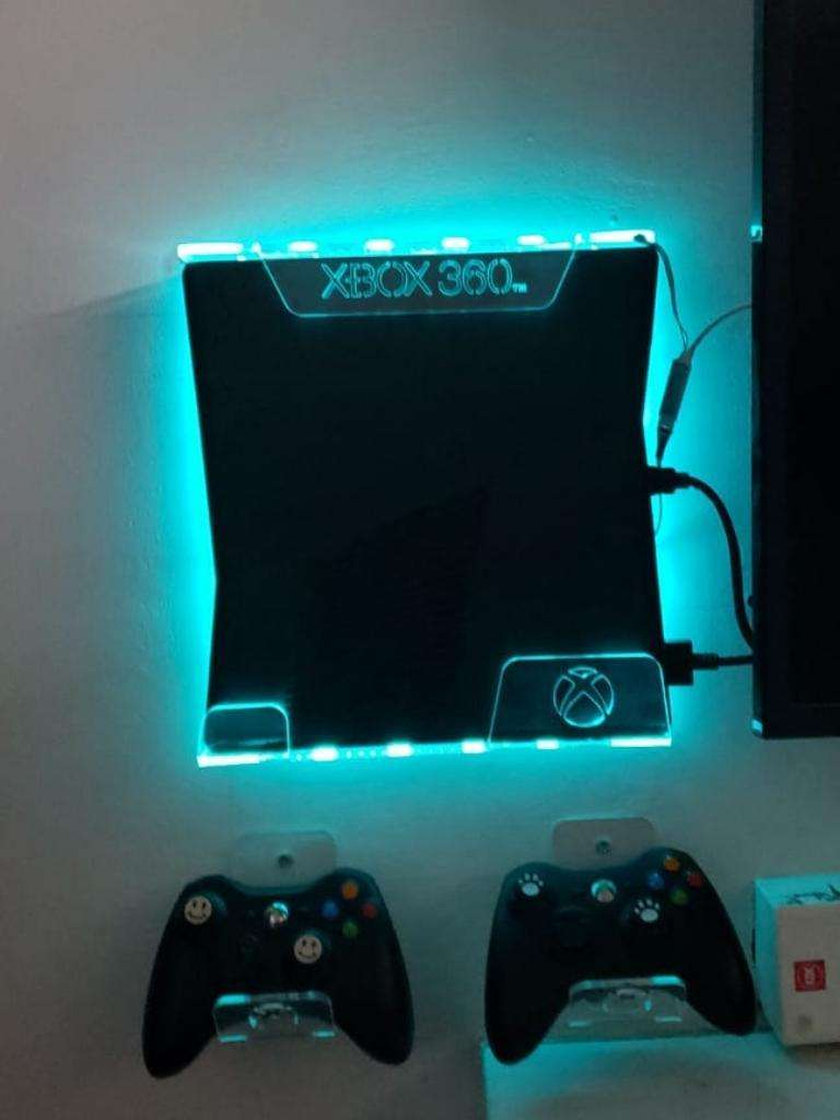 Soporte Base Consola  Xbox 360 Slim Luz