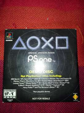 Juego Play Station One Y Cd Demo