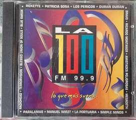 Lo Mejor De La Fm 100 - Lo Que Mas Suena- CD Año 1995