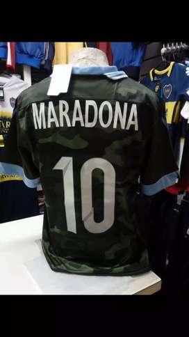Camiseta maradona varias