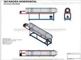 Planos Fabricacion De Secadora Rotatoria plasticos