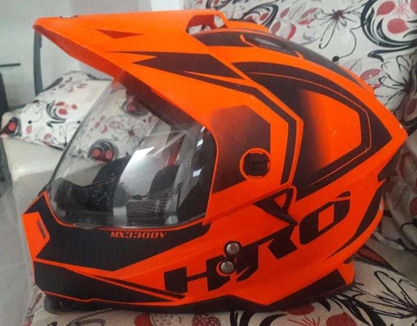 Casco moto HRO Mx3 0