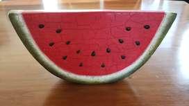 Sandia en cerámica