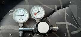 Manómetro regulador de oxigeno