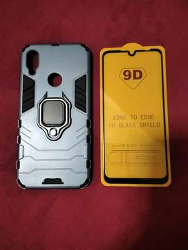 Redmi note 7 , Case y vidrio 9d