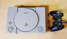 Playstation 1 Fat - Completa (Impecable)
