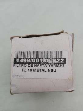 Filtro de combustible Yamaha FZ 16 Metal NSU todovendo_ya KARLAGEN9