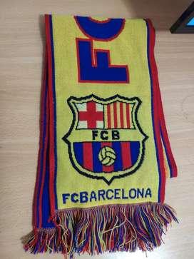 Bufanda original FC Barcelona.  Sin uso.