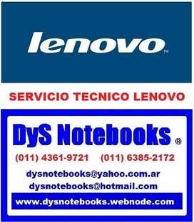 LENOVO SERVICIO TECNICO NOTEBOOK NETBOOK LAPTOP