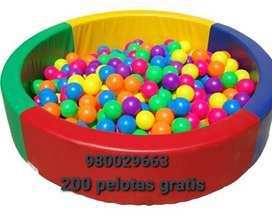 Piscina de pelotas para niños grande cm pelotas gratis