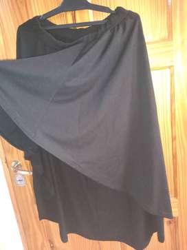 Falda amplia