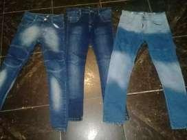 Jeans talle 10 usado 500 c/u