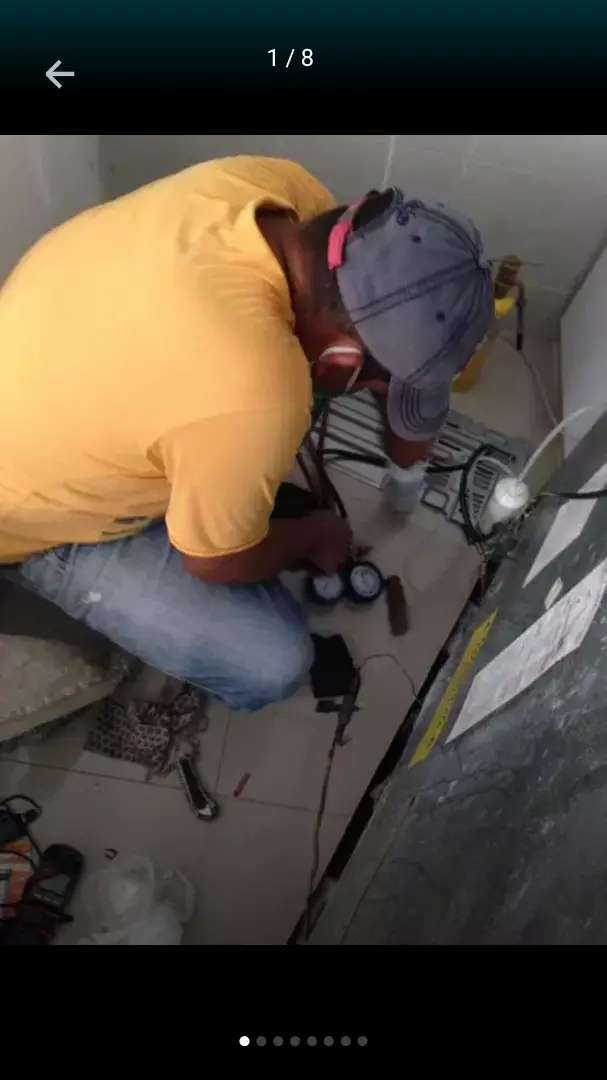 Reparaciónes de tecnología inverter en aire nevera congelador cuarto frío