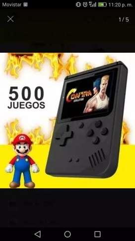 Mini Consola Retro Portátil Tipo Game Boy 500 Juegos