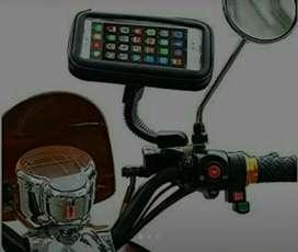 Portacelular para moto