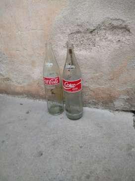 Envase de coca de 1 litro