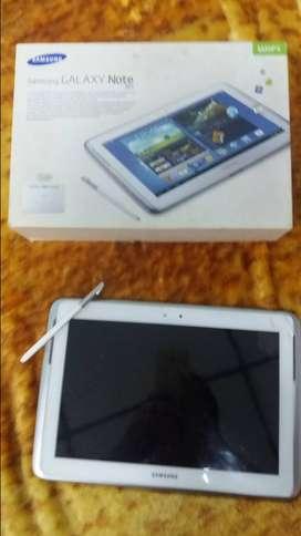 Permuto Tablet galaxy Note 10.1 quedo en logo y  cel Blu bold x plus trincada pant. funcionando b.